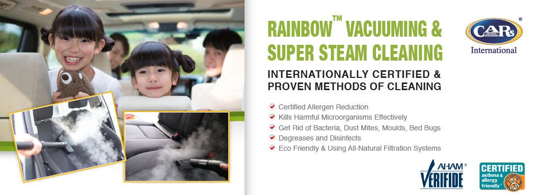 RAINBOW VACUUMING & SUPER STEAM CLEANING